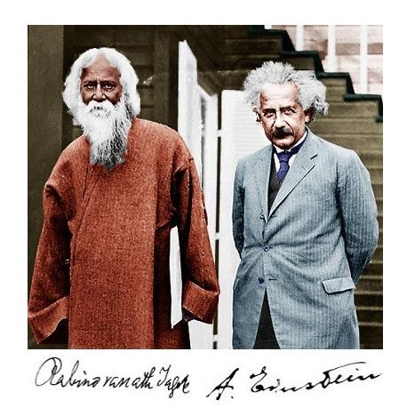 Post 6 (nov2019): Einstein and Tagore